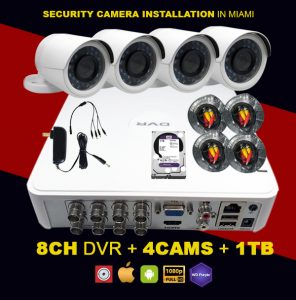 Security Camera Installation in Miami